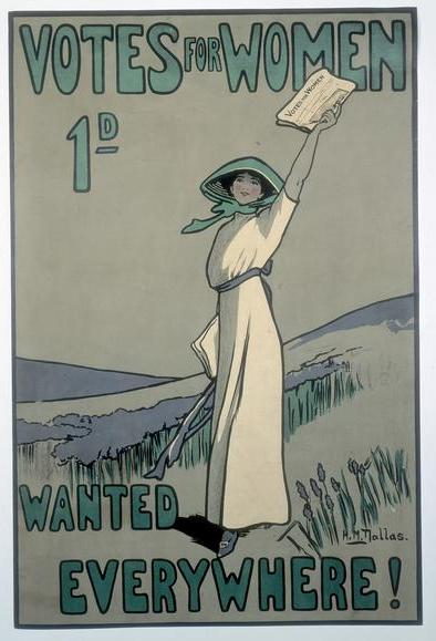 Votes_For_Women poster suffragette
